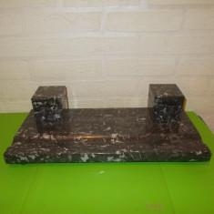Masiva CALIMARA DUBLA lucrata din GRANIT / MARMURA, greutate 5 kg