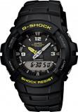 Casio G-100-9CM G-Shock ceas barbati nou 100% original. Garantie., Sport, Quartz, Inox