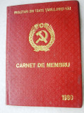 Carnet   membru  PCR 1980