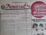 ZIAR VECHI -  PIONIERUL - ANUL 1 NR. 16 - ANUL 1949 - ORGAN AL CC AL UTM