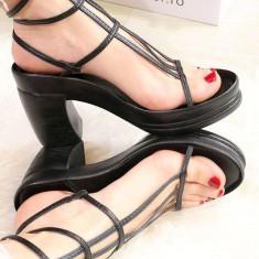 Sandale gladiator cu platforma EDGE - Sandale dama