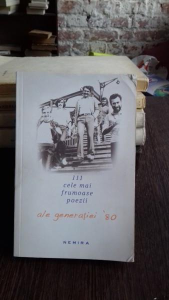 111 CELE MAI FRUMOASE POEZII ALE GENERATIEI '80 - COSMIN CIOTLOS
