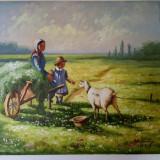 Tablou pictat in ulei pe panza, Peisaje, Altul