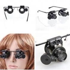 ochelari lupa x20 ochelari lupa 20x lupa led reparatii electronica 20X led