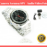 Ceas De Mana Camera SPION Ascunsa  SPY 4 Gb  - Inregistrare Foto Video Audio