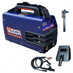Aparat de Sudura - Invertor VEGA MMA 250, afisaj electronic, electrozi 1.6-5 - Invertor sudura