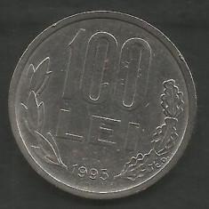 ROMANIA 100 LEI 1995 [1] livrare in cartonas - Moneda Romania, Fier