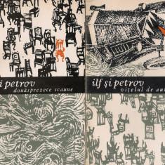 ILF SI PETROV - DOUASPREZECE SCAUNE / VITELUL DE AUR ( 2 VOLUME ) - Roman