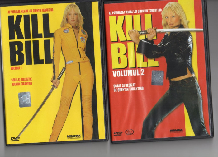 KILL  BILL  - 1  si  2- DVD - film