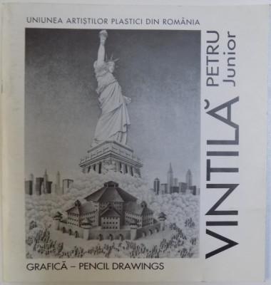 PETRU VINTILA JUNIOR - GRAFICA - PENCIL DRAWINGS ( CATOLG BILINGV ROM. -ENGLEZ ) , 2000 foto