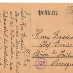 CPI B 10215 CARTE POSTALA - BLNKENESE, GERMANIA, 1918