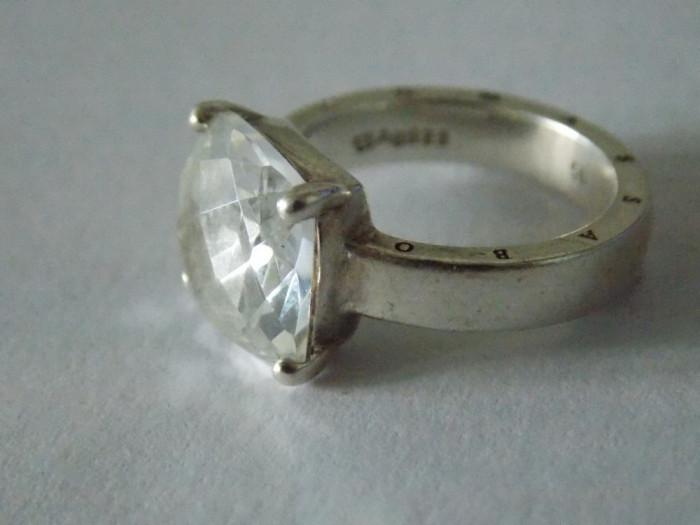 Inel argint cu zirconiu THOMAS SABO -2727