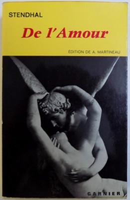 DE L 'AMOUR par STENDHAL , 1966 foto