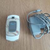 Telefon Samsung model SGH-E500 stare buna., Nu se aplica, Alb, Neblocat