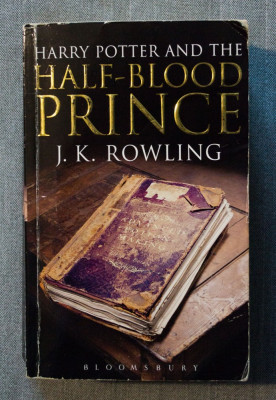 J. K. Rowling - Harry Potter and the Half-Blood Prince foto
