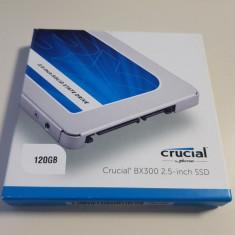 SSD Nou - Crucial 120GB SATA3 format 2.5 - sigilat