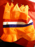 "Palarie- de""Nebun dupa Olanda"" -Suporter al Echipei de Fotbal a Olandei"