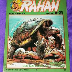 Rahan Nouvelle Collection nr 21 1981 - Reviste benzi desenate