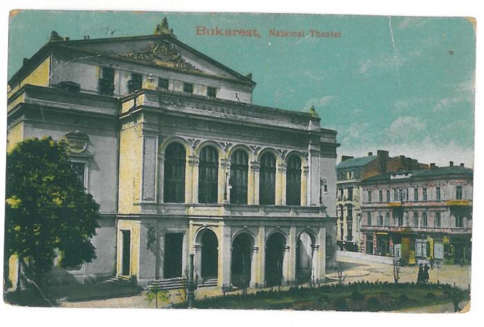 4278 - BUCURESTI, Romania, Theatre - old postcard, CENSOR - used - 1917