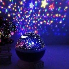 Lampa De Veghe Cu Proiector Rotativ Cu Stele Si Luna