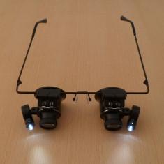 20x Lupa Ochelari Lupa X20 lumina LED lupa bijuterii lupa ceasornicari lupa 20x