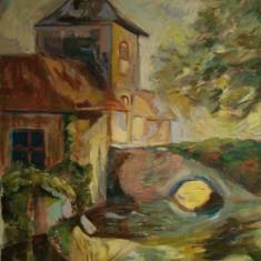 Tablou în ulei, Peisaje, Impresionism
