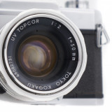 Aparat foto film Tokyo Kogaku Topcon Unirex 50mm f2, Nikon