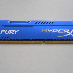 Memorie RAM Kingston HyperX Fury 8 GB (1 X 8 GB) 1600Mhz DDR3.