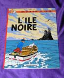 TINTIN L Ile noire Herge Casterman  benzi desenate franceza