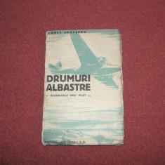 Drumuri albastre (insemnarile unui pilot) - Constantin Argesanu - 1934 - Carte veche