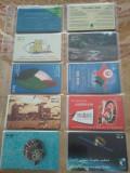 Lot 20 cartele telefonice Emiratele Arabe Unite + folie + taxele postale=30 roni