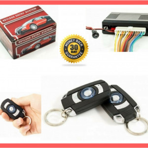 Modul Inchidere Centralizata Auto Universala cu 2 Telecomenzi Alarma Confort 012