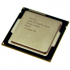Procesor Intel Core i5-4670 3.40 GHz - second hand - Procesor PC