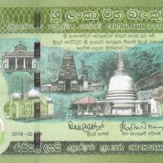 Bancnota Sri Lanka 1.000 Rupii 2018 - PNew UNC ( comemorativa )