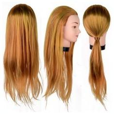 Cap Practica Coafor Manechin Par Blond Auriu