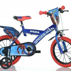 Bicicleta copii Dino Bikes 14 Spiderman