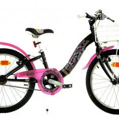 Bicicleta copii Dino Bikes 20 Barbie