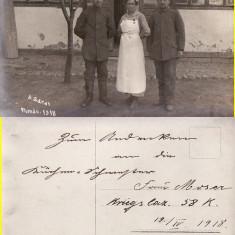 Ramnicu Sarat  -  tema militara, razboi, WK1, WWI-1918-spitalul-  rara