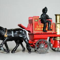 Macheta LESNEY London fire brigade trasura pompieri NO. 4 - Macheta auto, 1:60