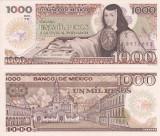 MEXIC 1.000 pesos 1985 - serie YK UNC!!!