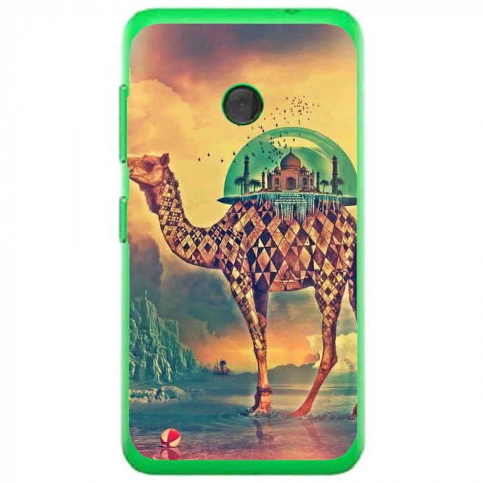 Husa Fantasy Camel Nokia Lumia 530 foto mare