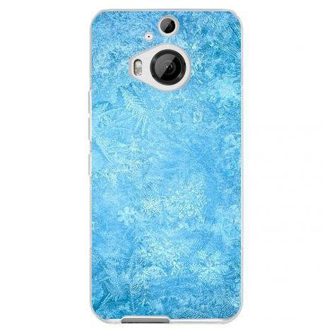 Husa Frozen Ice Snowflake HTC One M9 foto mare