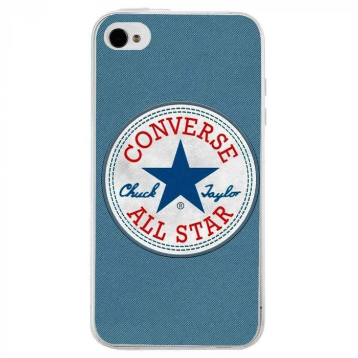 Husa Blue Converse APPLE Iphone 4