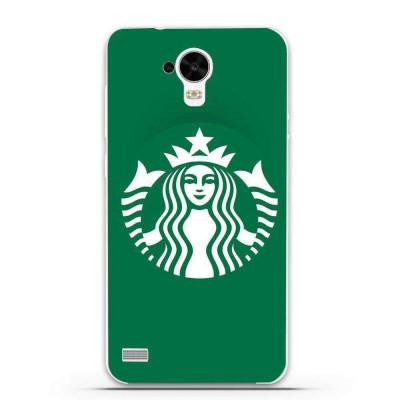 Husa Green Starbucks HUAWEI Ascend Y5 Y560 foto