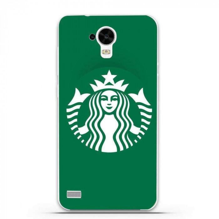 Husa Green Starbucks HUAWEI Ascend Y5 Y560 foto mare