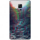 Husa Glitchy Forest SAMSUNG Galaxy Note 4 Edge