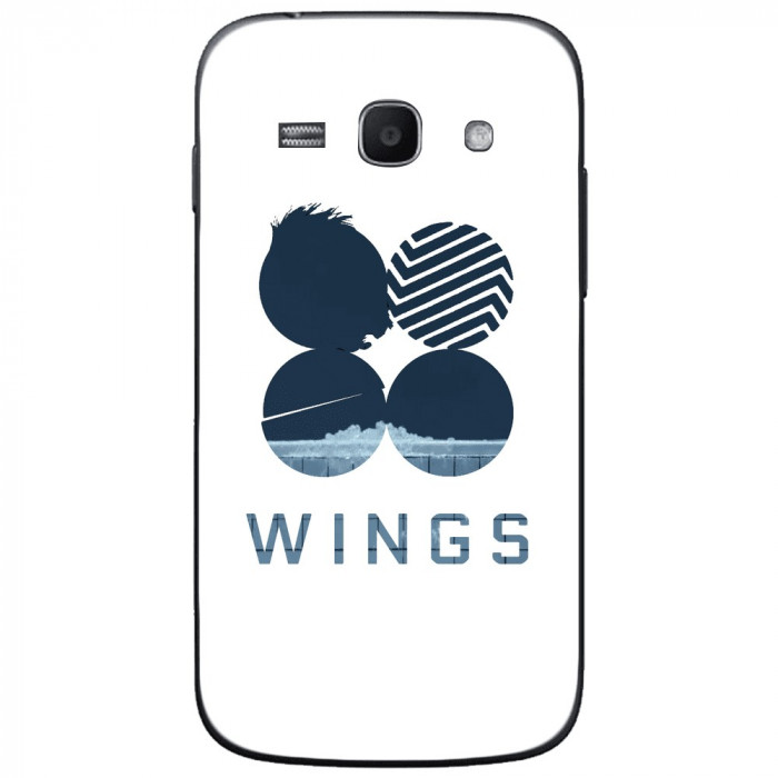 Husa Blue Wings SAMSUNG Galaxy Ace 4 foto mare
