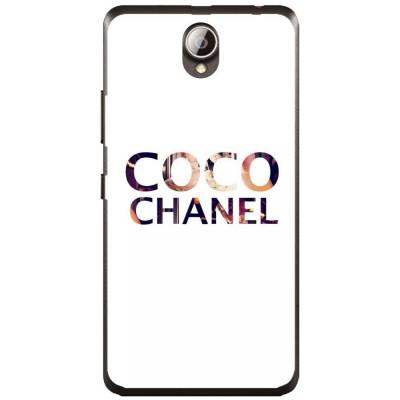 Husa Coco Chanel Background Lenovo A5000 foto