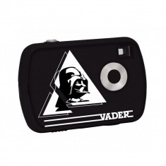CAMERA FOTO DIGITALA 1.3 MPX BLACK DARTH VADER STAR WARS - DVD Player Portabil