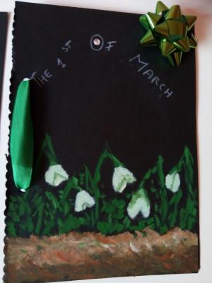 Carte postala handmade foto